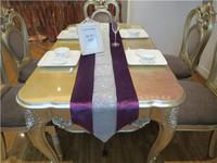 High quality luxury sparkling diamond new classical fashion brief fashion table runner table cloth