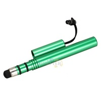 S1M# Stylus Touch Pen for iPad iPhone 4 4S 5 Samsung HTC Touch Tablet PC Green