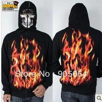 Free shipping.Prefect man Hoodies & Sweatshirts.man' skeleton coat.hip-top.warm Brand dance clothes.punk.fashion 3D