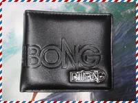 free shipping cheap fashion brand man wallets Cheapest Australia Black Color PU Leather Surf Purse Bag