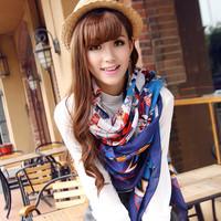 Free shipping!!! 2013 newest western brand scarf for women female fashion autumn designer shawl(5 colors)
