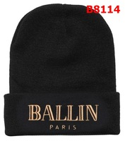 2013 BALLIN BEANIE BLACK/KHAKI HATS WOOLLY BOY GRILS HAT UNISEX CHEAP FREE SHIPPING FOR SALE ONLINE B8114