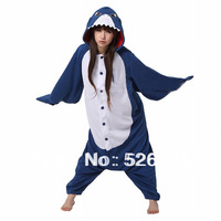 Factory Price!2013 New Shark Kigurumi Pajamas Animal Pyjamas Cosplay Costume Fleece cartoon animal sleepwear Free shipping