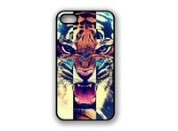 Tiger Roar Cross Hipster Quote for iPhone 5 Case
