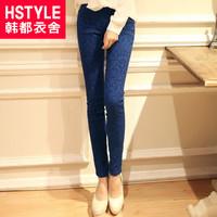 autumn women's elastic waist lz3062 print legging