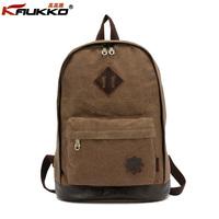 New Vintage Womens Canvas Rucksack Backpack Mens Shoulder bag bookbags School Travel Bags