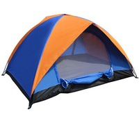 Ultra-light Portable Hiking Tent 2 Person Double Layer Aluminum Rod Camping Tent for Trekking Hot Sales Waterproof