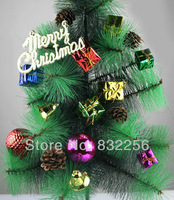 Xmas Christmas Pendant Chirstmas Tree Home Decoration Spree Exquisite Luxury  Kit for Christmas Party  Holiday Costume