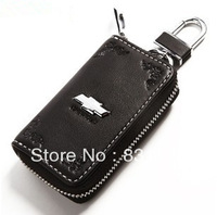 Wholesale Chevrolet luxury car series leather key fob personality beautifully carved with LOGO supplies