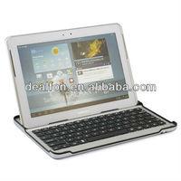 Aluminium Slim Bluetooth Keyboard for Samsung Galaxy Tab 2 P5100