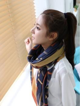 Free shipping Fashion scarf muslim hijab  alegant geometric chiffon female fabric scarves NAJWA SC-019