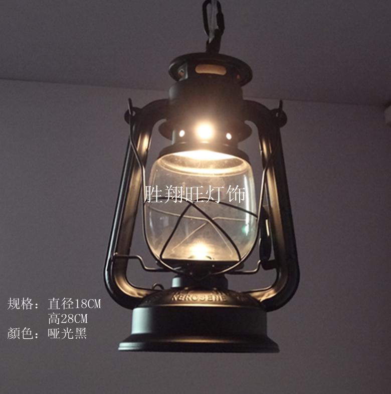 Lantern Light Fixtures Hanging Indoor - Creative Kerosene Lantern ...