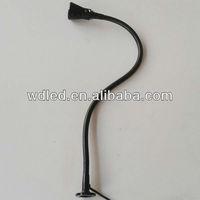 12v/24v 1*3W flexible pipe led work and tool light/24v Led Work And Tool Light/flexible hose led gooseneck lamps