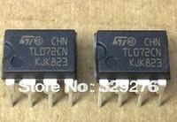 Free Shipping 100pcs TL072 TL072CN OP AMP DUAL JEFT LOW NOISE DIP-8