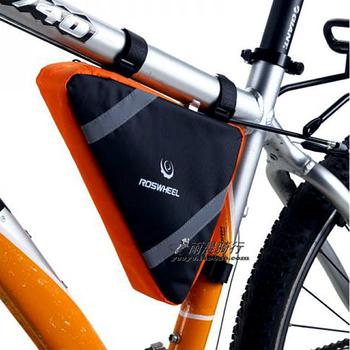Bicycle mountain bike front frame tube bag,riding triangle bag,Bike beam bag ride tools bag 88g