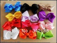 2014 50pcs/lot Baby ribbon bows with clip,grosgrain hairclips,Hairclips,Girls' Hair accessories