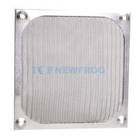 T2N2 120mm Aluminum Dustproof Cover Dust Filter for PC Cooling Chassis Fan