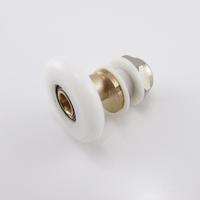 small hanging round shower room sliding door pulley shower room eccentric wheel  accessories w014