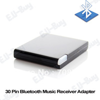 Free shipping Bluetooth A2DP Music Receiver Audio Adapter for ipad iPod iPhone 30Pin Dock Bose Speaker (EUB-R2-5)