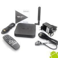 Freeshipping  MINIX NEO X7 Quad core RK3188 2G 16G TV BOX set top box mini pc Android 4.2 rk3188 WHOLESALE