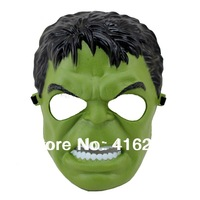 2013 New The Incredible Hulk Green Face Mask Halloween Party Costume Accessory Cartoon