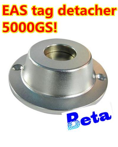 1pc Universal Security Sensormatic Detacher Checkpoint EAS Hard Tag Detacher Remover 5000GS magnetism EAS accessories(China (Mainland))
