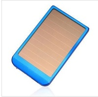 Solar mobile power charge treasure mobile phone  for apple   battery charger 2600
