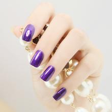 on Nail Polish Purple