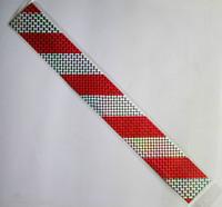 Free shipping,20pcs/lot(8Meter), 40CMx5CM, Parking lot PVC warning tape,Floor warning tape,JERT40-D,white+red color