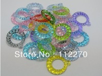 100pcs 25m Free shipping Crystal beads The acrylic earrings Pendants beads Jewelry Accessory