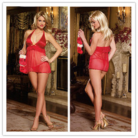 Christmas Gift  Sexy Lace Lingerie + G-String Thong Women NightDress Plus size XXL  XXXL XXXXL  SEXY  Nightgown