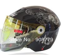 Motorcycle summer helmets off-road helmet knight safety helmet tank racing helmet half open face D-720