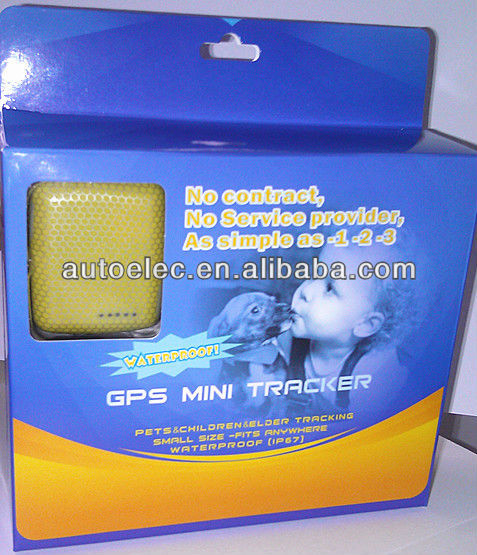 GTK990 Micro GSM GPS Personal Tracker Waterproof(China (Mainland))