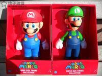 free shippping Super Mario Brothers Mario Mario Luigi Luigi doll  action figure Christmas and Birthday  gift