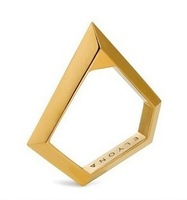 Min Order $18(Can Mix Item)New fashion gold tone geometric polygon ring