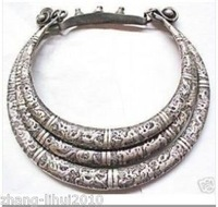 Excellent Halloween props Tibet Silver necklace shipping free