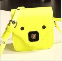 New mini fashion messenger shoulder Messenger kawaii bag retro vintage  dot messenger bag