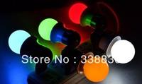 FREE SHIPPING 100pcs/lot LED Bulb Lamp E27 Red Green Blue Yellow White Color Christmas Lamp Small Power Lamp Mini Festival Lamp