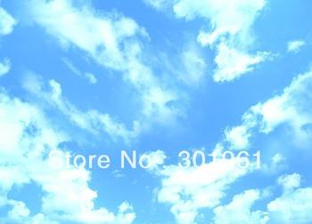 Blue sky fabric ceiling film