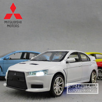 Plain MITSUBISHI lancer evo alloy car model