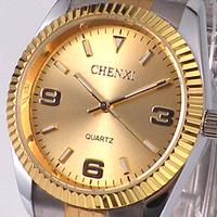 Fashion Luxury Brand Watch Gold Quartz Waterproof Quartz Watch  004c  2013 Free Shipping