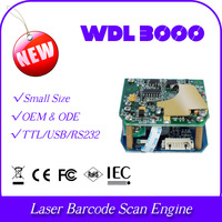 wholesale and retail micro size mini body WDL3000-TTL 1D laser diode barcode bar code scanner reader module engine