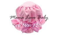 10pcs/lot Wholesale Fashion Lovely Lace Bowknot Summer Children's Baby Girl's Sun Hat Cap Free shipping 13811