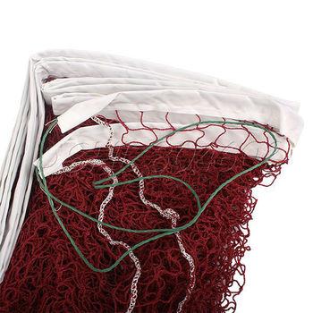 Professional Training Standard Nylon rope Braided Badminton Net Portable