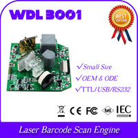 wholesale and retail micro size mini body WDL3001-TTL 1D laser diode barcode bar code scanner reader module engine