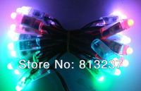 50pcs DC5V input LPD6803 LED pixel light,full color,IP68 rated