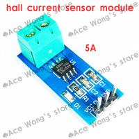 2pcs new design 5A range hall Current Sensor Module ACS712 Module for Arduino 5A ACS712 ,freeshipping
