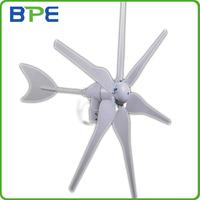 HOT SALE!! 400W Max Power 6 Blades Wind Generator, AC12V Wind Power Turbine