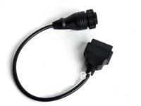 OBD 14 Pin to 16 Pin OBD 2 Diagnostic Adapter for MB Sprinter Free Shipping