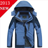 2013 Autumn and winter men's brand sport jacket ,high quality casual windproof sports coat , Wind-resistant sport outerwear